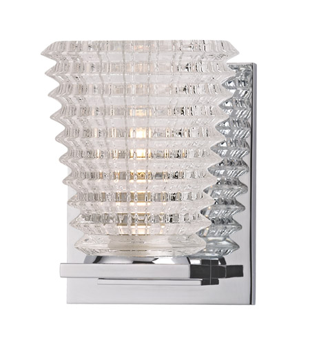 Hudson Valley Lighting Conway 1 Light Bath And Vanity in Polished Chrome 4471-PC photo