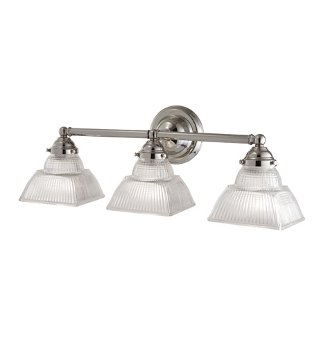 Hudson Valley 4513-PN Majestic Square 3 Light 22 inch Polished Nickel Bath And Vanity Wall Light photo