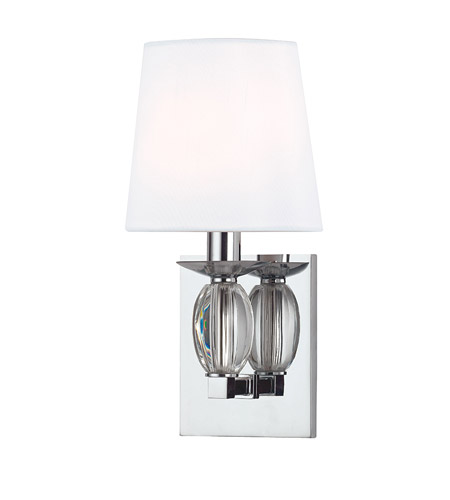 Hudson Valley 4611-PC Cameron 1 Light 6 inch Polished Chrome Wall Sconce Wall Light photo