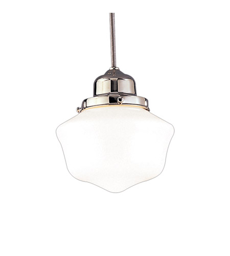 Hudson Valley Lighting Dawson 1 Light Pendant in Polished Nickel 4621-PN photo