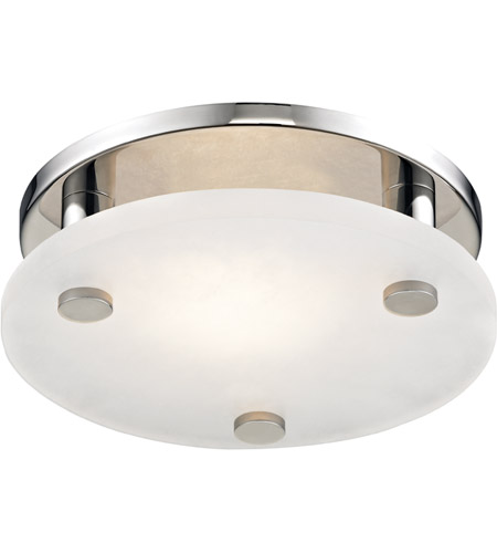 Polished Nickel Alabaster Flush Mounts