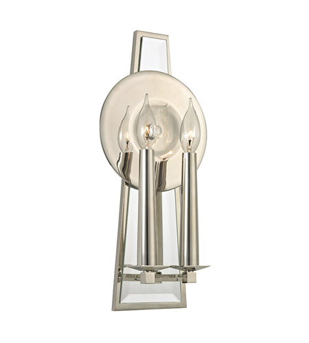 Hudson Valley Lighting Barker 2 Light Wall Sconce in Polished Nickel 472-PN photo