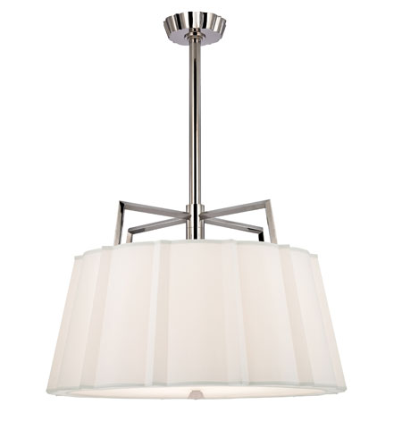 Hudson Valley Lighting Humphrey 5 Light Chandelier in Polished Nickel 4832-PN photo