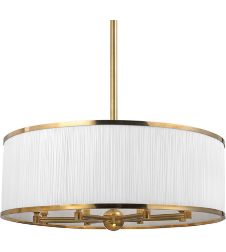 Hudson Valley Lighting Hastings 8 Light Chandelier in Aged Brass 5230-AGB photo