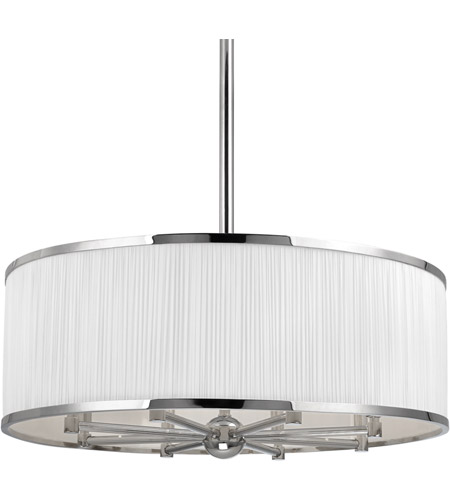 Hudson Valley 5230-PN Hastings 8 Light 30 inch Polished Nickel Chandelier Ceiling Light photo