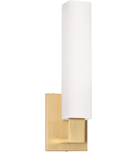 Hudson Valley 550-AGB Livingston 1 Light 5 inch Aged Brass Bath And Vanity Wall Light photo