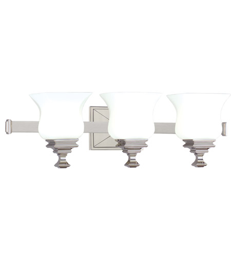 Hudson Valley 5503-SN Wilton 3 Light 25 inch Satin Nickel Bath And Vanity Wall Light photo