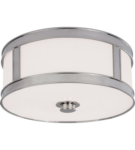 Hudson Valley Lighting Patterson 2 Light Flush Mount in Polished Nickel 5513-PN photo