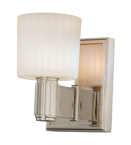 Hudson Valley Lighting Crowley 1 Light Bath And Vanity in Polished Nickel 5561-PN photo