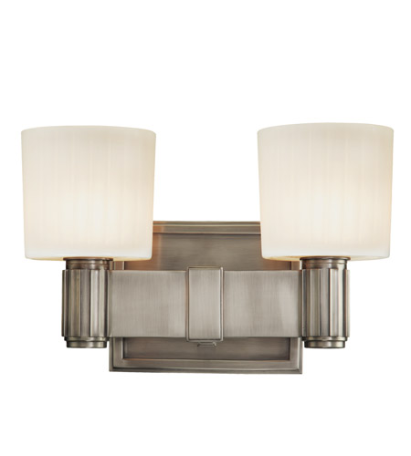 Hudson Valley Lighting Crowley 2 Light Bath And Vanity in Antique Nickel 5562-AN photo