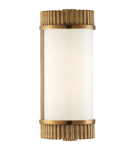 Hudson Valley Lighting Benton 1 Light Bath And Vanity in Aged Brass 561-AGB photo