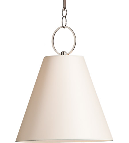 Hudson Valley Lighting Altamont 1 Light Pendant in Polished Nickel 5618-PN photo