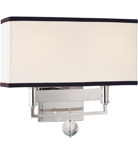 Hudson Valley 5642-PN Gresham Park 2 Light 13 inch Polished Nickel Wall Sconce Wall Light photo