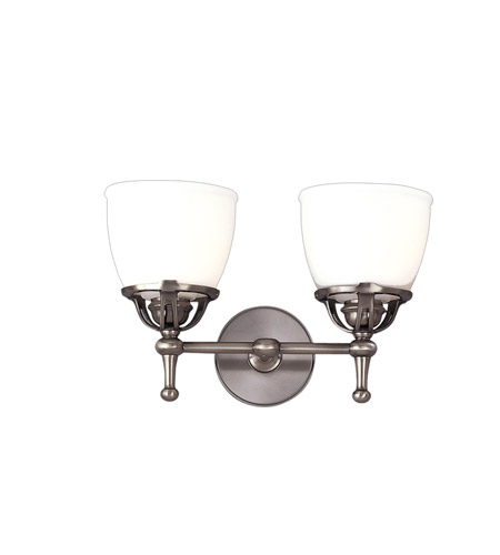 Hudson Valley Lighting Hamilton 2 Light Bath And Vanity in Antique Nickel 5802-AN photo