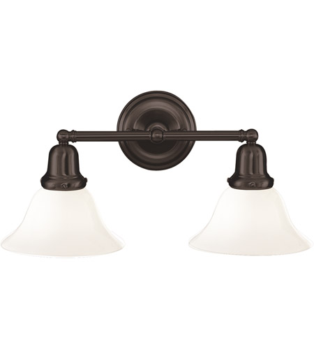 Hudson Valley 582-OB-415 Edison 2 Light 18 inch Old Bronze Bath And Vanity Wall Light in 415 photo