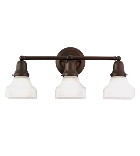 Hudson Valley Lighting Edison 3 Light Bath And Vanity in Old Bronze 583-OB-226 photo