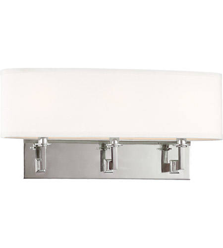 Hudson Valley 593-PN Grayson 3 Light 20 inch Polished Nickel Wall Sconce Wall Light photo