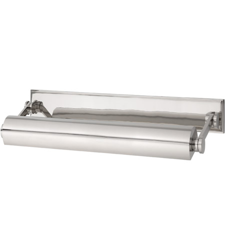 Hudson Valley 6015-PN Merrick 120 watt 18 inch Polished Nickel Picture Light Wall Light photo