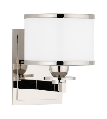 Hudson Valley 6101-PN Basking Ridge 1 Light 6 inch Polished Nickel Bath And Vanity Wall Light photo