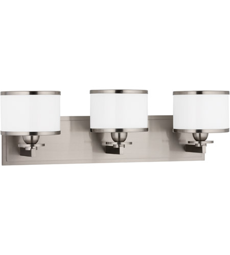 Hudson Valley Lighting Basking Ridge 3 Light Bath And Vanity in Satin Nickel 6103-SN photo