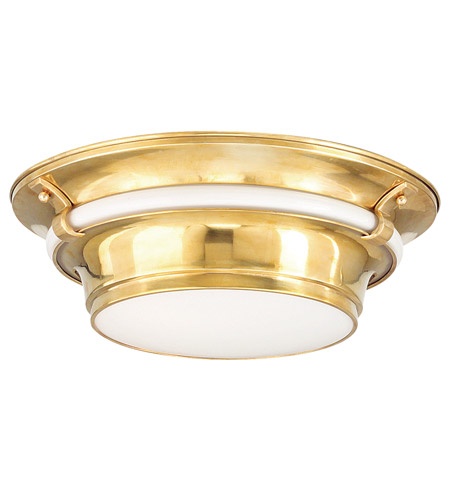 Hudson Valley Lighting Ashland 3 Light Flush Mount in Aged Brass 6216-AGB photo