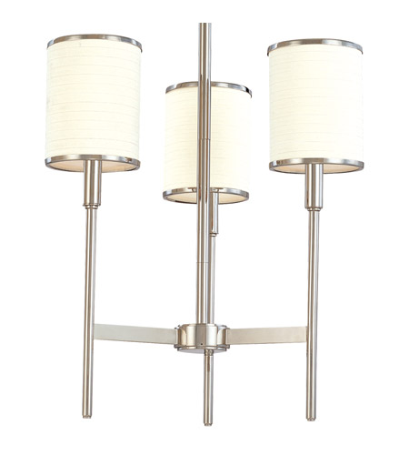 Hudson Valley Lighting Aberdeen 3 Light Chandelier in Polished Nickel 623-PN photo