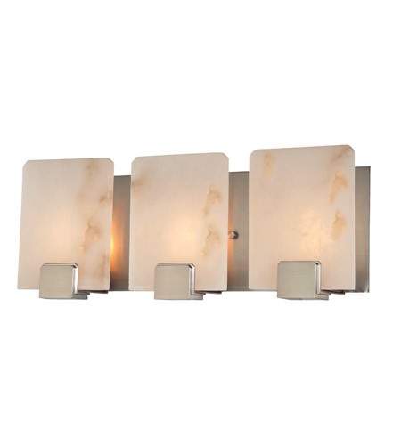 Hudson Valley Lighting Lake Grove 3 Light Bath And Vanity in Satin Nickel 6293-SN photo