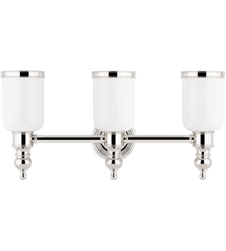 Hudson Valley Lighting Chatham 3 Light Bath And Vanity in Polished Nickel 6303-PN photo