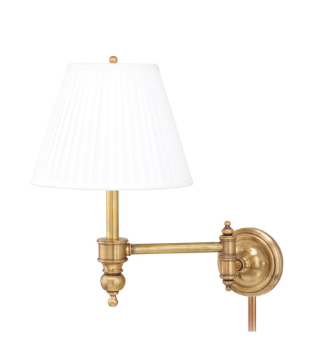 Hudson Valley Lighting Chatham 1 Light Wall Sconce in Aged Brass 6331-AGB photo