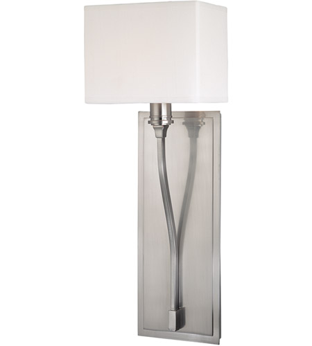 Hudson Valley Lighting Selkirk 1 Light Wall Sconce in Satin Nickel 641-SN photo