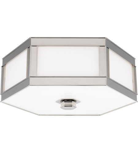 Hudson Valley 6416-PN Nassau 3 Light 16 inch Polished Nickel Flush Mount Ceiling Light photo