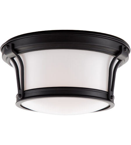 Hudson Valley Lighting Newport Flush 2 Light Flush Mount in Old Bronze 6510-OB photo