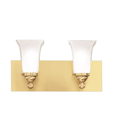 Hudson Valley Lighting Symphony 2 Light Bath And Vanity in Satin Brass 6602-SB photo