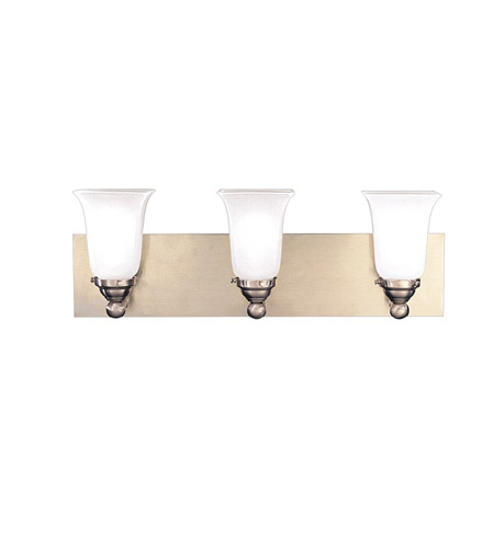 Hudson Valley Lighting Symphony 3 Light Bath And Vanity in Satin Nickel 6603-SN photo