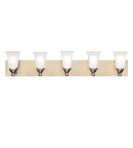 Hudson Valley Lighting Symphony 5 Light Bath And Vanity in Satin Nickel 6605-SN photo