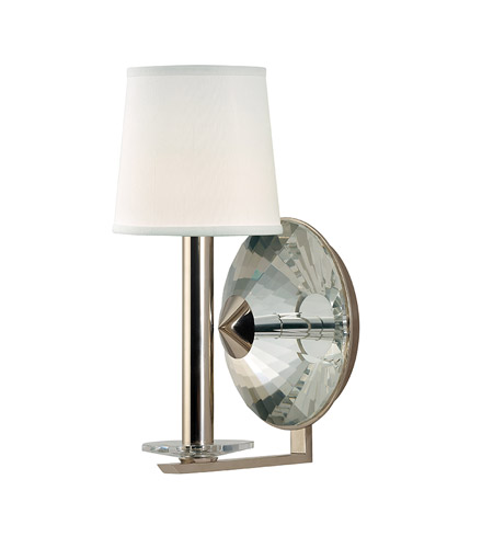 Hudson Valley 6611-PN Porter 1 Light 7 inch Polished Nickel Wall Sconce Wall Light photo