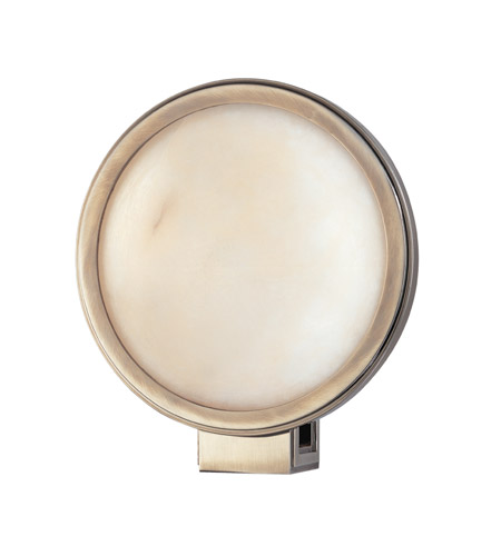 Hudson Valley Lighting Ingram 1 Light Wall Sconce in Historic Nickel 681-HN photo
