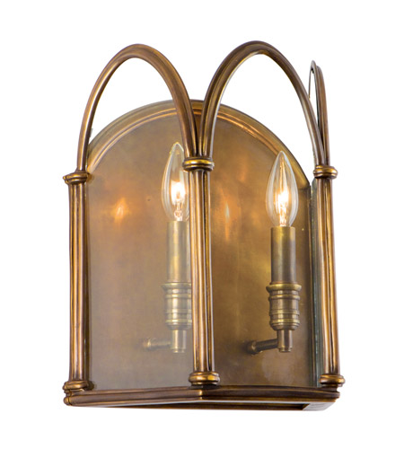Hudson Valley Lighting Annadale 2 Light Wall Sconce in Distressed ...