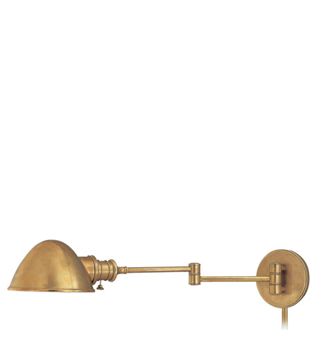 Hudson Valley Lighting Newport 1 Light Wall Sconce in Aged Brass 6931-AGB photo