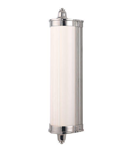 Hudson Valley 708-PN Nichols LED 15 inch Polished Nickel Bath Vanity Wall Light photo