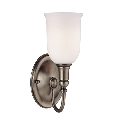 Hudson Valley Lighting Huntington 1 Light Bath And Vanity in Antique Nickel 7141-AN photo