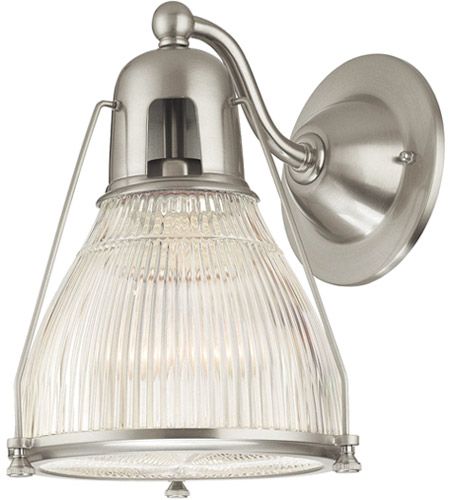 Hudson Valley Lighting Haverhill 1 Light Wall Sconce in Satin Nickel 7301-SN photo