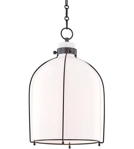 newest 0a0b4 9a266 Hudson Valley 7314-OB Eldridge 1 Light 14 inch Old Bronze Pendant Ceiling  Light
