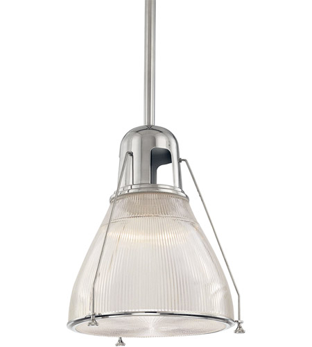Hudson Valley Lighting Haverhill 1 Light Pendant in Polished Nickel 7315-PN photo