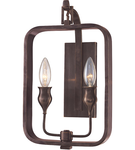 Hudson Valley 7402-OB Rumsford 2 Light 9 inch Old Bronze Wall Sconce Wall Light photo