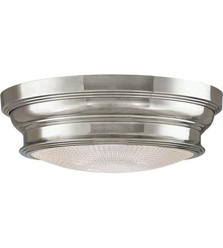 Hudson Valley 7513-PN Woodstock 2 Light 13 inch Polished Nickel Flush Mount Ceiling Light photo