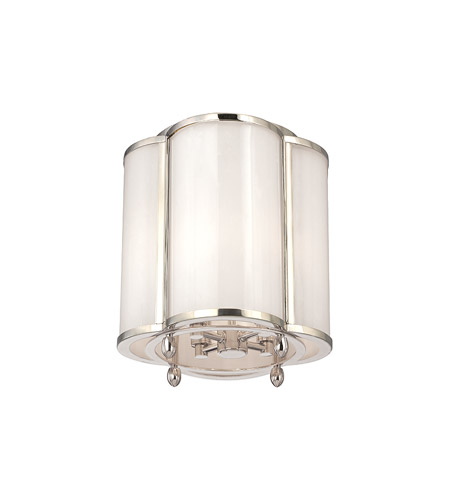 Hudson Valley Lighting Berkshire 4 Light Semi Flush in Polished Nickel 7600-PN photo