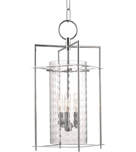Hudson Valley 7609-PN Esopus 3 Light 9 inch Polished Nickel Pendant Ceiling Light photo