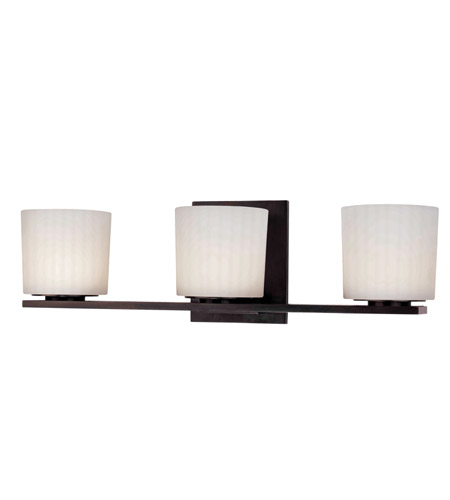 Hudson Valley Lighting Woodbridge 3 Light Bath And Vanity in Old Bronze 7743-OB photo