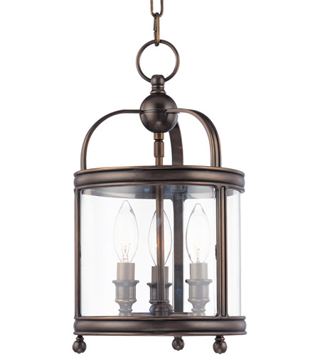 Hudson Valley 7809-DB Larchmont 3 Light 9 inch Distressed Bronze Pendant Ceiling Light photo